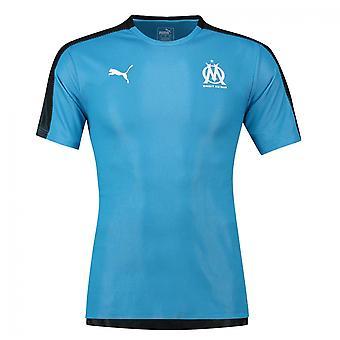 2018-2019 Olympique Marseille Puma Stadium Jersey (albastru)