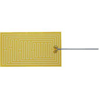 Chauffage de Polyester thermo clinquant auto-adhésif 12 v C.c., 12 V AC 75 W IP notation IPX4 (L x P) 300 x 170 mm