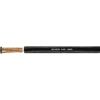 HELUKABEL 31002 hitsaus kaapeli H01N2-D 1 x 16 mm ² musta myyty per metri