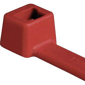 HellermannTyton 116-01812 T18R-PA66-RD-C1 Cable tie 100 mm 2.50 mm Red 100 pc(s)