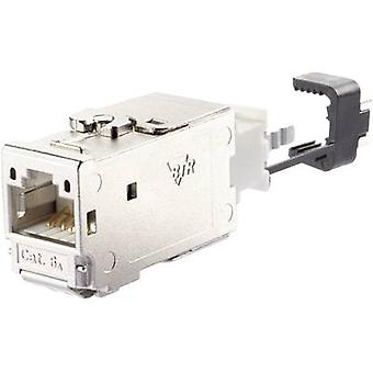 Metz Connect 130B11-E RJ45 module E-DAT CAT 6A