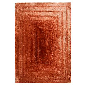 Tapetes de beira terracota retângulo tapetes liso/quase lisos