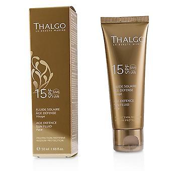 Thalgo Age Defence Sun Fluid For Face Spf15 - 50ml/1.69oz