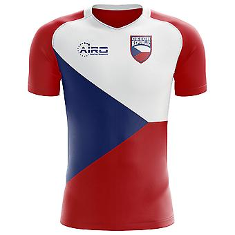 2020-2021 Czech Republic Home Concept Football Shirt - Little Boys