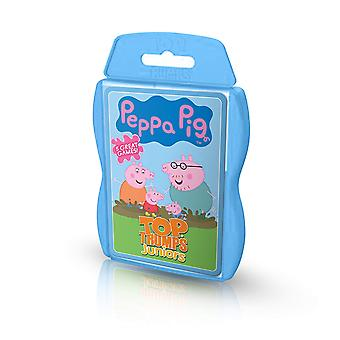 Top Trumps Peppa Pig Junior activité Pack jeu de cartes
