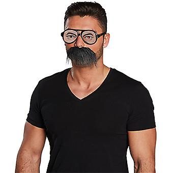 Bril en baard instellen accessoire carnaval Halloween