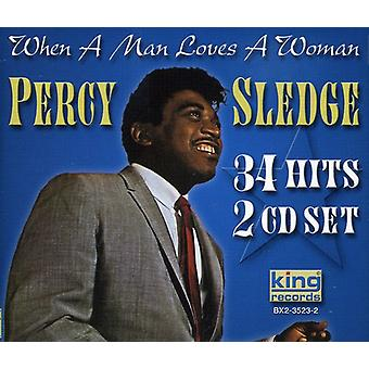 Percy Sledge - When a Man Loves a Woman [CD] USA import