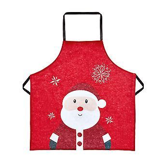 TRIXES 85 x 60cm Santa Adults Felt Apron – Great for Baking
