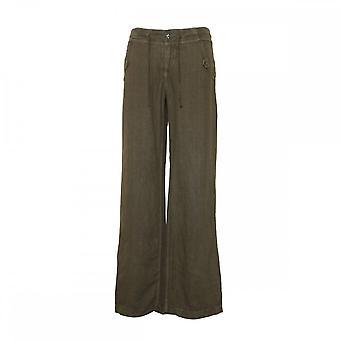 Mac Jeans Women's Feminine Fit Linen Trousers