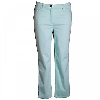 Michele Women's Fitted Hips Crop Trousers