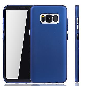 Samsung Galaxy S8 - matkapuhelin kotelo Samsung Galaxy S8 - liikkuva tapaus tumman sininen