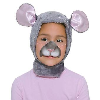 Mouse Set. Childs (Hood + Nose).