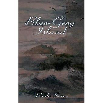 Blau-grau-Insel