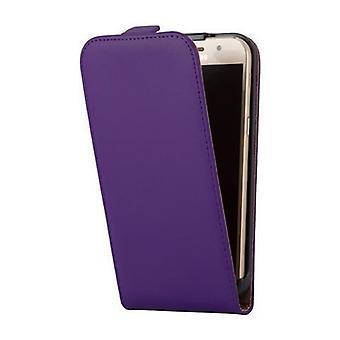 Cadorabo Hülle für Samsung Galaxy A5 2017 Case Cover - Handyhülle im Flip Design aus glattem Kunstleder - Case Cover Schutzhülle Etui Tasche Book Klapp Style