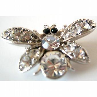 Spilla di cristalli Bumble Bee acquistare & dare il regalo di Natale a prezzi accessibili