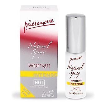 Hot Pheromone Natural Spray Woman, 5 ml