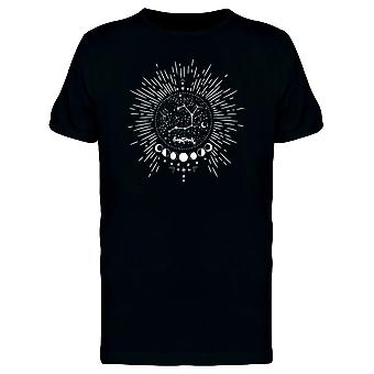 Moon Cconstellations Galaxy Tee Men's -Image by Shutterstock