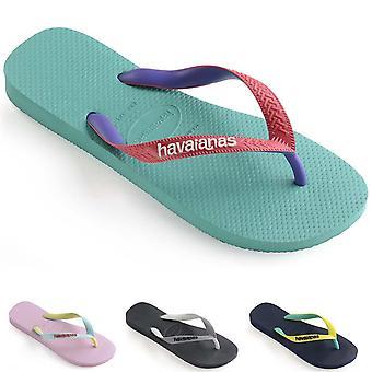 Unisex Kids Havaianas Top Mix Summer Lightweight Beach Toe Post Flip Flop