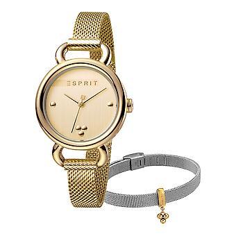 Esprit ES1L023M0055 Play Gold Mesh Women's Watch