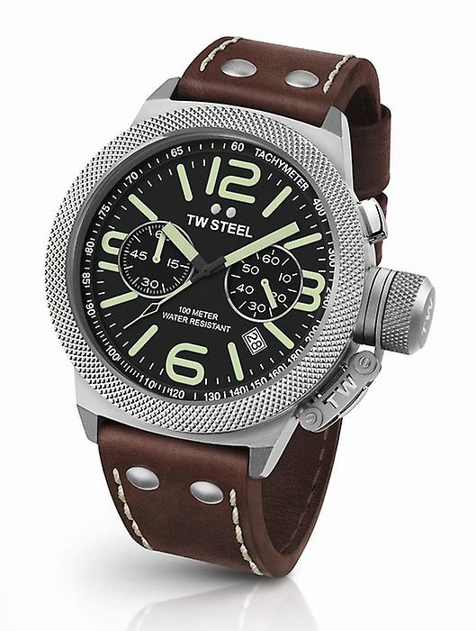TW Steel Canteen Cs23 chronograph mens watch 45 mm