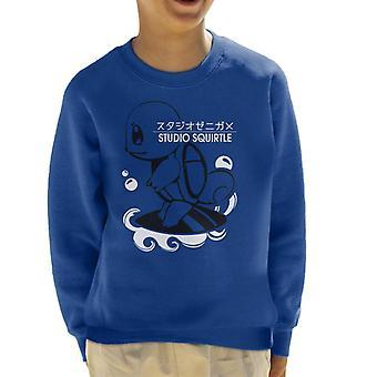 Squirtle Studio Ghibli Kid's Sweatshirt