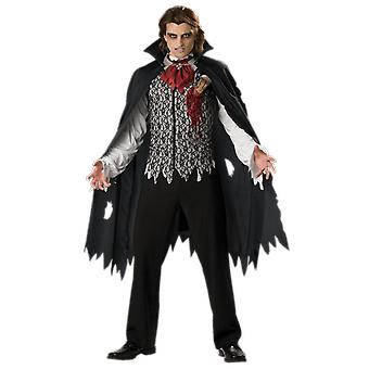 Mens Vampire B Slayed Dracula Film Halloween Fancy Dress Costume