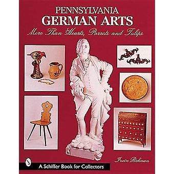Pennsylvania German Arts - More Than Hearts - Parrots and Tulips by Ir