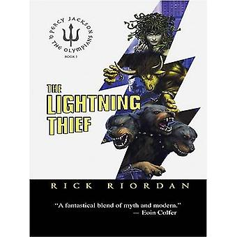 The Lightning Thief (large type edition) by Rick Riordan - 9780786282