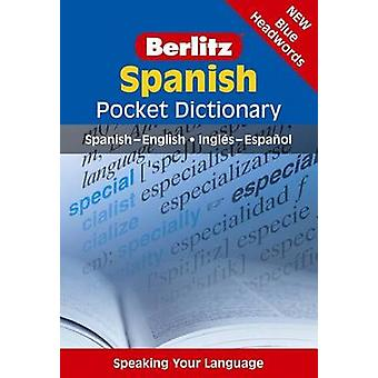Berlitz Language - Spanish Pocket Dictionary - 9781780043753 Book