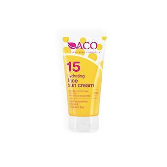 ACO hidratante Face Sun Cream SPF 15 50ml