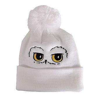 Harry Potter Hedwig Eyes Pompom Beanie