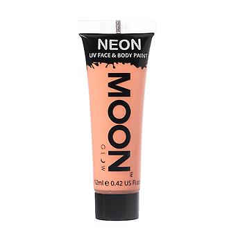Moon Glow - 12ml Neon UV Face & Body Paint - Pastel Orange