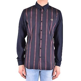 Fred Perry Ezbc094027 Men's Multicolor Cotton Shirt