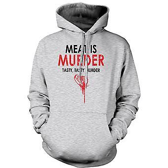 Kids Hoodie - Meat Is Murder, Tasty Tasty Murder - Funny