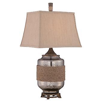 Riggning bordslampa