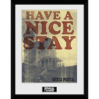 Psycho Have a Nice Stay Collector Print 30.5x41cm