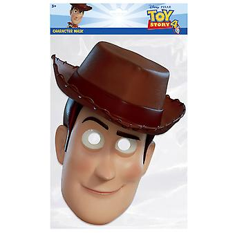 Woody from Toy Story 4 Official Single 2D Card Party Fancy Dress Mask
