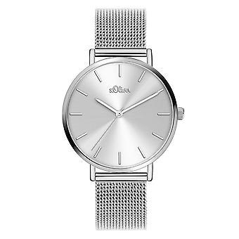 s. Oliver Women ' s Watch armbandsur rostfrittstål SO-3909-MQ
