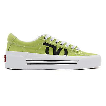 Vans Sid Ni Womens Green / Entraîneurs blancs
