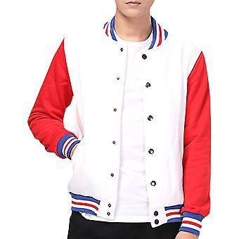 Allthemen Men's Baseball Jacket Letterman jacket