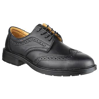 Amblers Safety Mens FS44 Safety Brogue Black