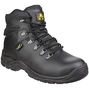 Amblers Safety Mens AS335 Poron XRD Porta-malas de Segurança Interna Metatarsal Preto
