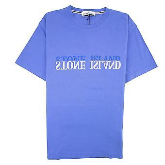 Stone Island Graphic Six T-shirt blauw V0043