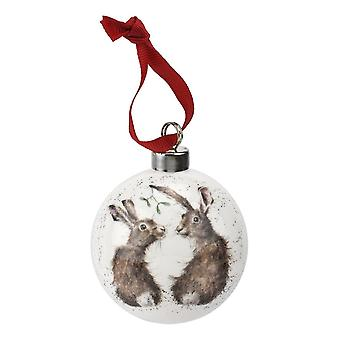 Wrendale Bauble, All I Want for Christmas
