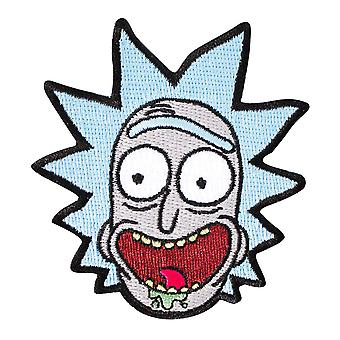 Rick And Morty Screaming Rick Patch