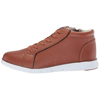Propét Womens Travelfit bootie Leather Hight Top Lace Up Fashion Sneakers