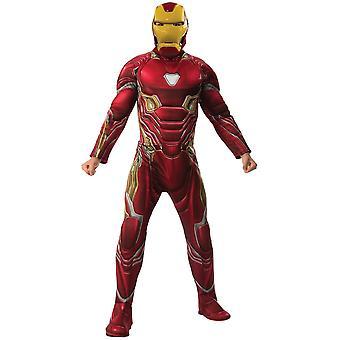 Men Iron Man Costume Mark 50 - Avengers: Endgame