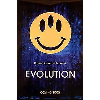Evolution (Advance) Original Cinema Poster (Advance) Original Cinema Poster (Advance) Original Cinema Poster Evolution (Advance)