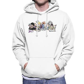 Zits Study Gang Men's Hooded Sweatshirt