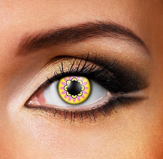 Kaleidoscope Contact Lenses